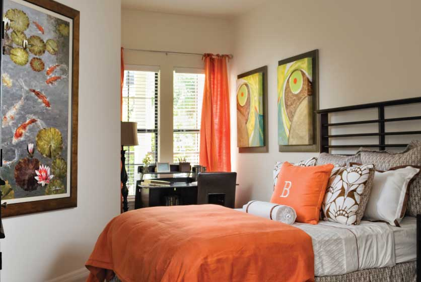 Unique Bedroom Layout!