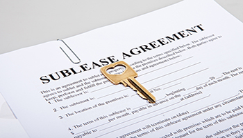 Not all communities allow sublease agreements, so always check beforehand!